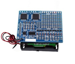 SMT SMD Component Welding Practice Board Soldering DIY Kit Resitor Diode Transistor By start Learning Electronic