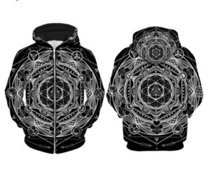 Newest Fashion Womens Mens Zip Up Hoodies Mayan Totem Funny 3D Print Casual Hoodies Pullovers Sweatshirts LMSN0012