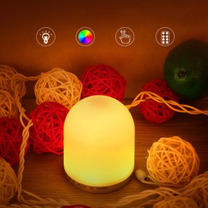 USB Charging LED Night Light with Remote RGB Remote Control Nightlights Dimmable touch sensor Table Lamp Children Night Lights
