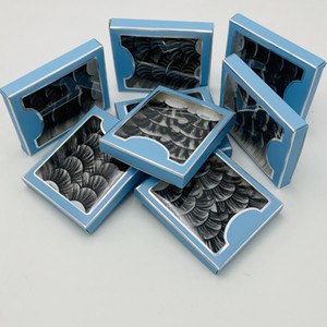 Crisscross Thick 25mm Mink Lashes 5 Pairs Set Reusable Handmade False Eyelashes Mink Hair 8 Models DHL Free