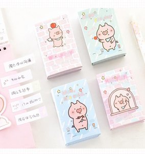 Hello Little Pig 6 Folding Memo Pad N Times Sticky Notes Memo Notepad Bookmark School Office Supplies Papelaria jllQqe jhhome