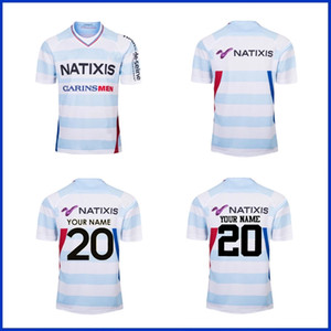 2019 RACING 92 HOME JERSEY RUGBY RUGBY RACING 92 taille de JERSEY FORMATION S - 3TG