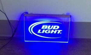 B -08 Bud Light Led Neon light Registar Decor frete grátis Dropshipping Atacado 7 cores para escolher