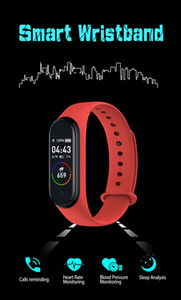 Mosmart MSM004 Smart Bracelet Fitness Tracker Step Counter Activity Monitor Band Alarm Clock Vibration Wristband for iphone Android phone