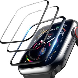 Full Protective ceramics soft Film for Apple Watch Screen Protector 42mm 44mm 40mm 38mm iwatch 5 4 3 2 1 Film Not Tempered Glass