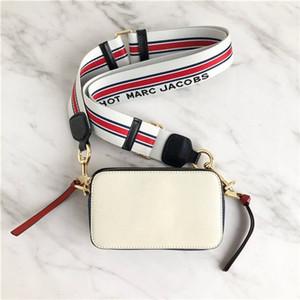 Novas mulheres de luxo designer saco bolsas Letter Ampla alça de ombro Duplo Zipper Mini Praça Handbag Designer Luxo Crossbody bolsas crossbody