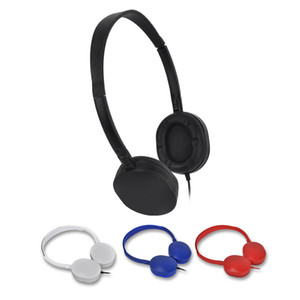 Wholesale Over the Head Headphones headset in Bulk Earphones Earbuds For Library Classrooms Hospital Students Kids Gift Low Cost
