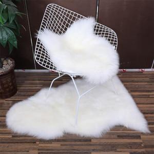 tapete de lã quarto almofada do sofá sala de estar Australian cama tapete de lã pura blanke janela ovelhas toda cadeira almofada tapete macio