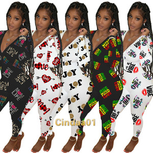 Women Jumpsuits Slim Sexy Designer Deep V-neck Fashion Element Valentine Day Home Wear One Piece Pants Ladies New Casual Rompers C0198