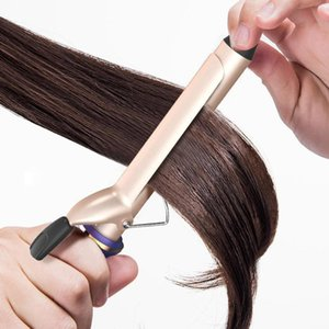 Professional Electric Ceramic Hair Curler Lcd Curling Iron Roller Curls Wand Diy Hair Styling Tools yxlNvx comecase