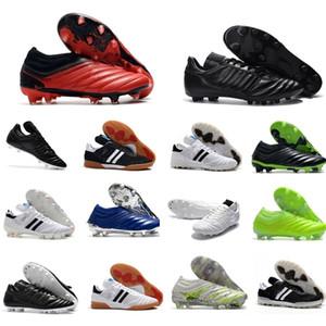 أحدث الرجال كأس مونديال جلدية FG كرة القدم أحذية كرة القدم المرابط 70Y FG كأس العالم لكرة القدم أحذية الحجم 39-45 أسود أبيض botines فوتبول