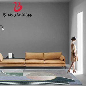 Carpets Bubble Kiss Nordic Style Living Room Carpet Green Geometric Pattern Non-Slip Bedroom Decoration Rug Floor Mats