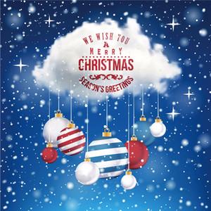 Merry Christmas Window etiquetas 50 * 70cm pared de la ventana de PVC Santa Claus ciervos del árbol de Navidad del copo de nieve pegatinas Adornos AHE2167