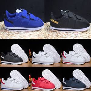 Nike Cortez Basic Kids Running Shoes 2020 per bambini per bambini CORTEZ DI BASE bambini Scarpe libero addestratori Hight Top Sneakers Boot Eur 22-35