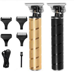 Caliente Pro Li T-Outliner peluquería eléctrico inalámbrico Corte Profesional Capilar Hombre calvo 0mm las podadoras de pelo del corte del pelo de la máquina Casecust