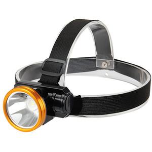LED Rechargeable Lithium Battery Battery Headlamp Patrouille Patrouilleuse Tête Montée Lampe de pêche de camping imperméable 4JH J2