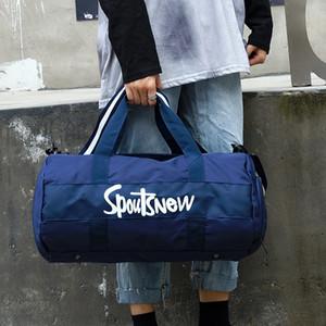 2020 Luxurys Designer Taschen Cross Border neue Art und Weise New Druck Sport Sporttasche Dry Wet Trennung Yoga-Tasche Unabhängige Shoe Warehouse-Reisen