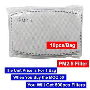 Für PM2.5 Filter kostenlos 5 Buy One Cotton PCS Mask Mask DHL Kostenloser Versand Design Designer Mask Masquerade mit Atemumbau