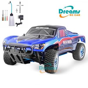 HSP RC Auto 1:10 Maßstab 4WD Zwei Geschwindigkeit RC Spielzeug Nitro Gas Power Off Road Kurzer Kurs Truck 94155 High Speed Hobby Fernbedienung Auto 201201