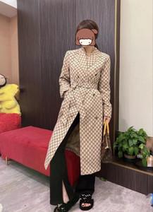 Moda kadın yün ceket kadın orta boy 2020 sonbahar ve kış yeni mizaç bel ve ince diz ceket