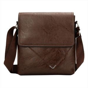 Office Shoulder Bags Tote Mens Business Diagonal Cross Bag Briefcase Solid Color Classic Shoulder Bag Handbag Laptop