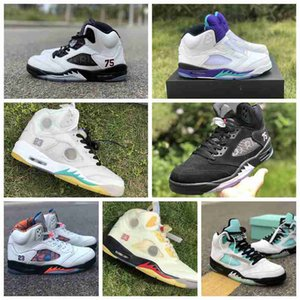 2020 new top quality jumpman 5 men 5s basketball shoes retro red oregon ducks alternate grape trainers running shoes outdoor sneakers