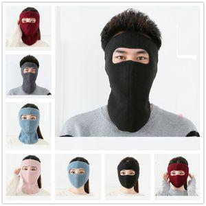 Polar Fleece Trooper Mask Full Face Masks Facekini Unisex Adult Winter Warm Outdoor Sport Skimask Cycling Motorcycle Headwear Hats EWF2536