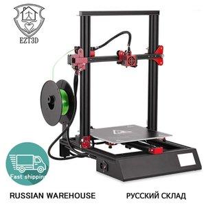 M18PRO3.5 inç Dokunmatik Ekran Masaüstü 3D Yazıcı Alüminyum Isıtmalı Yatak Oto Besleme Otomatik Seviyelendirme 3D Yazıcı AB Tak 300 * 300 * 400mm1