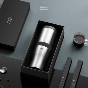 المحمولة صانع القهوة والمعدات آلة صغيرة شبه تلقائي الاتفاق طحن البن القابل للصدأ الكهربائية للإتهام اسبرسو