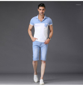 Sulée marque 2019 hommes déchiré short jeans marque vêtements d'été shorts de coton respirant déchirable shorts de denim mâle1