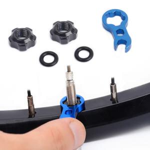 고정 너트 프랑스어 타이어 방수 액세서리 자전거 비상 밸브 너트
