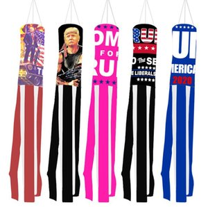 Trump Windsock Flag America President Election Supplies US Hanging Flags Election Signal Flag Christmas Outdoor Garden Decoration OOA9698