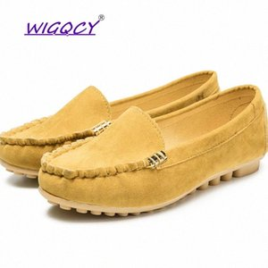 Plus Size 35-44 Women Flats shoes New Loafers Candy Color Slip on Flat Shoes Ballet Flats Comfortable Ladies shoe zapatos mujer #q242
