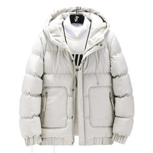KKSKY Nakış Parkas Ceketler Erkekler Kapşonlu Kapüşonlular Kış Casual Sıcak Adam Bombacı Ceket Erkek Slim Fit Coats chaqueta Hombre 5XL