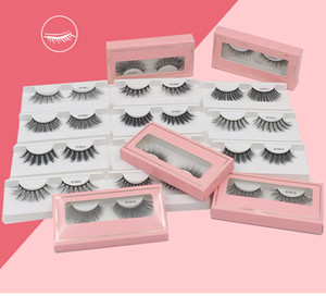 Faux 3d Mink Lashes Eyelashes Extension False Eyelashes Fake Mink Eyelash Packaging Box Makeup Eye Lashes Cases for Beauty
