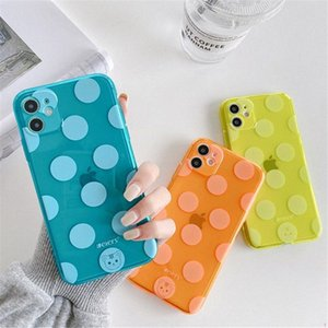 Clear Wave Point Phone Case For iPhone 12 11 Pro Max XR XS 8 7 Plus SE Soft TPU Silicone Cover