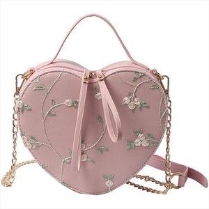 2018 New Fashion Heart Shaped women Handbags Lolita small Crossbody bag PU Leather Women Messenger Bag Ladies Shoulder Handbag