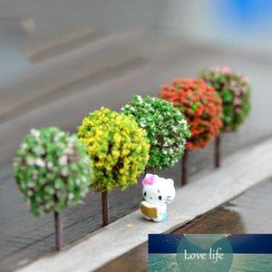 Gros- Mini jardin Décorations en résine Arbre fée Jardin Miniatures Arbres Jardin Décoration Terrarium Figurines miniature Figurines Fée