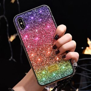 2020 newest Gradient Glitter Premium Rhinestone Case Design Women Defender Phone Case For iPhone 12 11 Pro Xr Xs Max 67 8 Plus