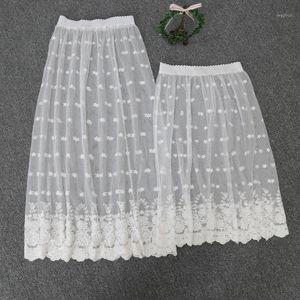 Dantel Malzeme Seksi Petticoat Dantel Yarım Kayma Kayma Seksi 9991