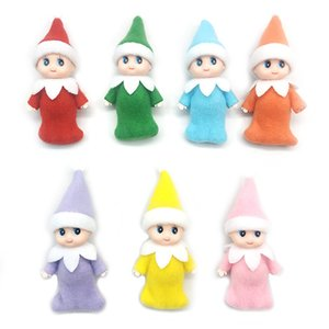 Christmas decoration 10 PCS Christmas Baby Elf Dolls Baby Elves Toys Mini Elf Xmas Decoration Doll Kids Toys Gifts Little Dolls