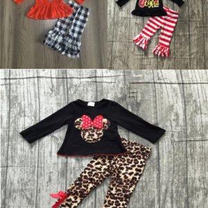 girlymax vendite speciali cadono set ragazze carine abiti invernali