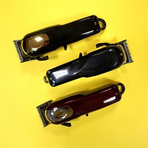 العلامة التجارية 8184 سحر المعادن قص الشعر الكهربائية الحلاقة للرجال الصلب رئيس ماكينة حلاقة الشعر المتقلب الذهب الأحمر الولايات المتحدة / الاتحاد الأوروبي / المملكة المتحدة النسخة