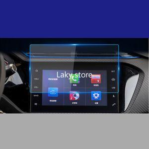 Orijinal GPS Araba Navigasyon Çelik Film Chery Tiggo 3XE 2018 Merkezi Kontrol LCD Ekran Cam Temperli HD Koruyucu Film