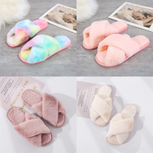 Yvkrv New Desinger Foam west slides Resin Women Kids slippers plush Bone Cross Runner Brown clear crystal slipper Desert Sand Men Slipper