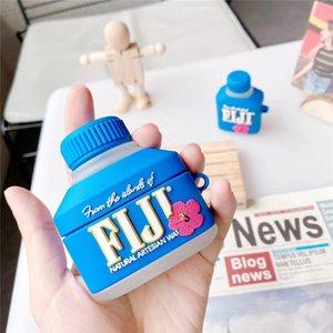 Étui de boisson d'eau Fidji mignon 3D pour AirPods 3 Couvercle de protection casque pour AIR PODS PRO 2 cas Silicone Écouteur CAPA 30PCS DHL