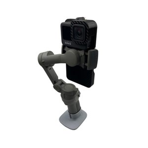 Hero Black Holder Phone Clamp Extension Bracket For DJI OSMO Mobile 4 Gopro 9 Accessories
