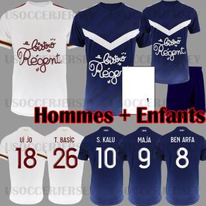 19 20 Maillots de football Girondins de Bordeaux BRIAND KAMANO KALU Maillot de foot Bordeaux 2019 2020 BASIC BENITO maillot Adulte Enfant Kit uniformes