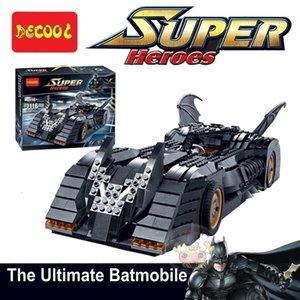 Building block 7116 classic collection version bat chariot puzzle model toy wholesale
