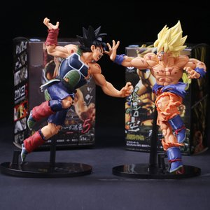 Hot Anime Resurrection F Super Saiyan figlio Bardock PVC Action Figure da collezione modello di bambola modello 23cm T200704